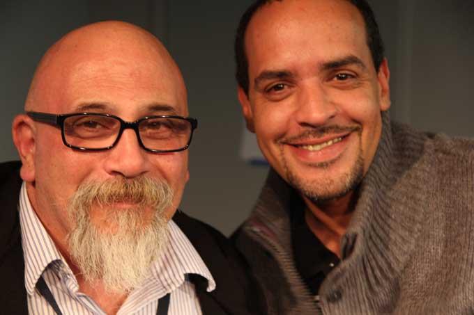 John Rocco and Angelo Colon