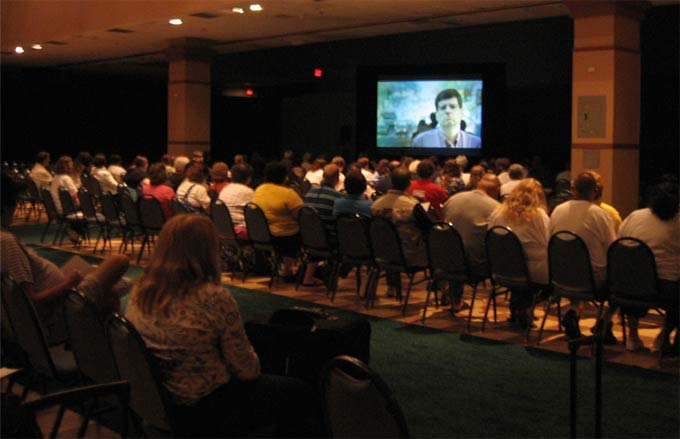 """OC87"" screening at the 2010 PMHCA Conference"