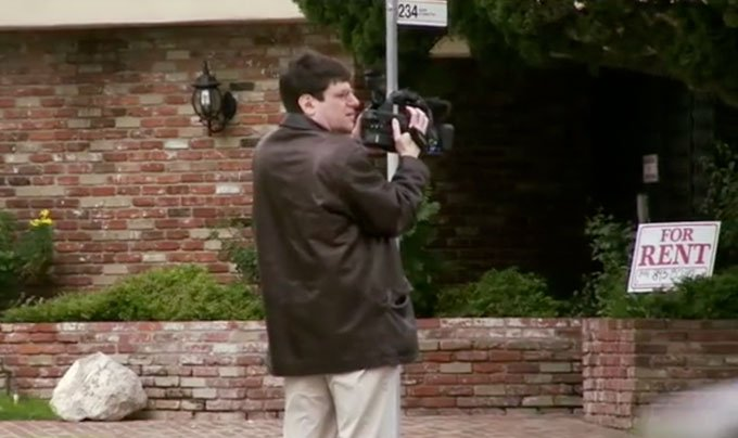 Bud Clayman in LA in the documentary - Exposure Response Prevention