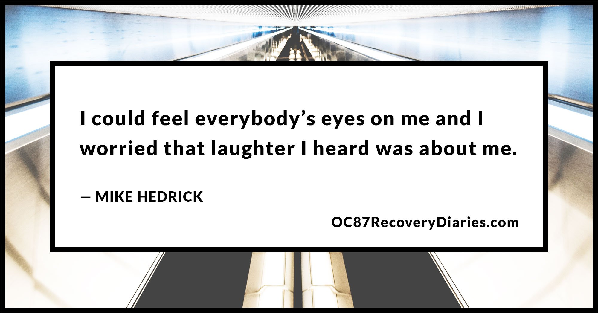 the light switch effect of stress by mike hedrick on oc recovery i also started to get depressed i felt done overwhelmed and exhausted i began to think about what would happen if i died the stress got worse and the